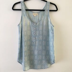 Cloth and Stone Aztec tank